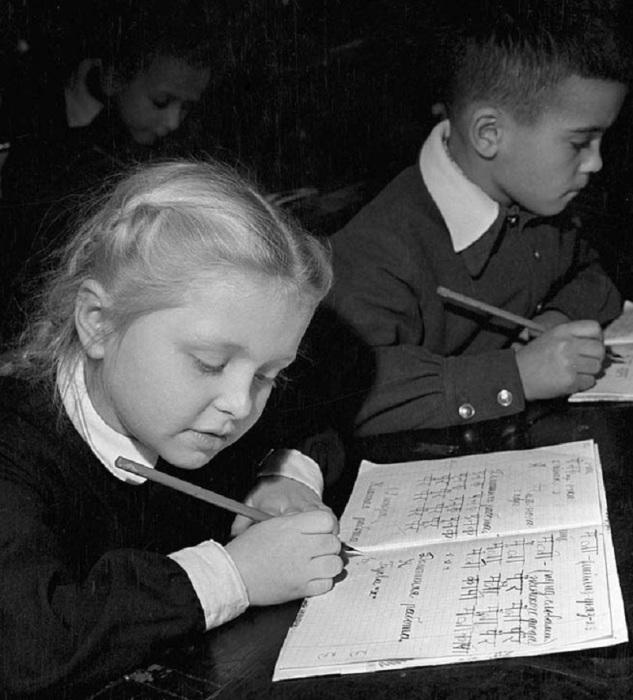 Дополнительные занятия в 1956 году.
