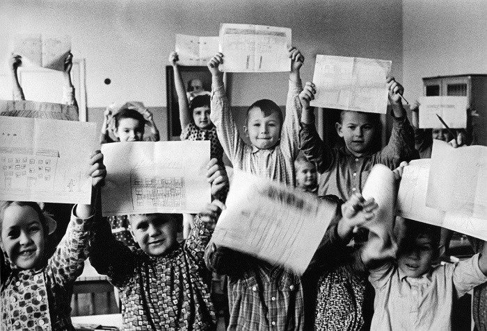 В детском саду. 1945 год.