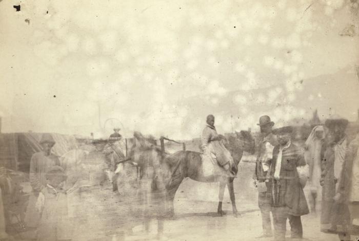 В татарском ауле возле Семипалатинска.