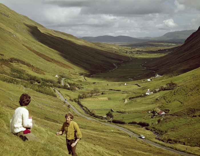Проход Гленгеша, недалеко от деревни Ардара в графстве Донегол. Автор фото: Дэвид Нобл.