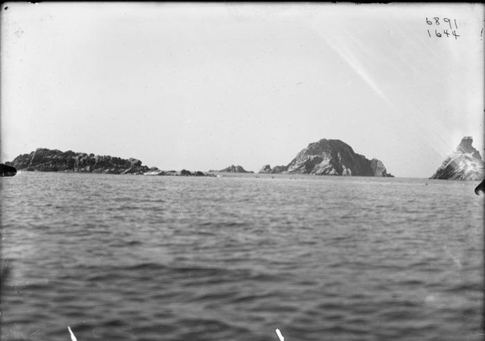 Острова в заливе Кишига. 1897-1902 год.