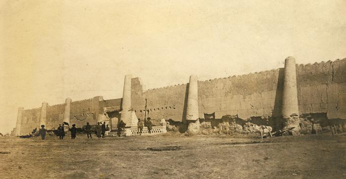 Крепость в древнем регионе Хорезмы.