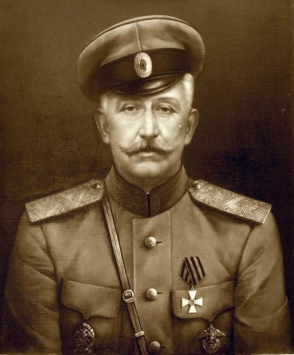 Генерал Краснов Петр Николаевич.