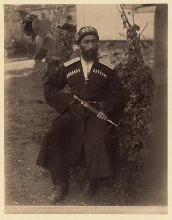 Абазинец. Кубанская область, 1890 год.