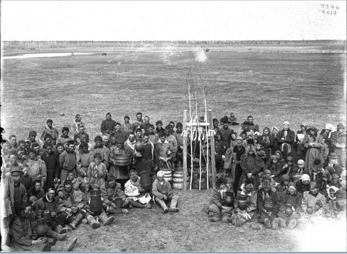 Праздник Кумыса. Сибирь, начало 20 века.