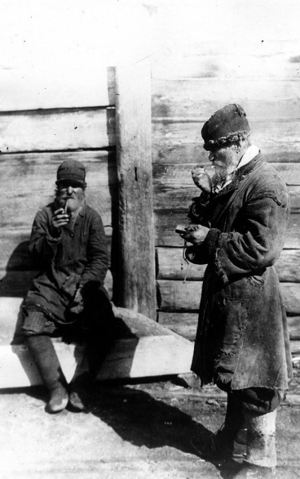 Крестьяне-челдоны. Россия, Красноярск, конец ХIХ века.