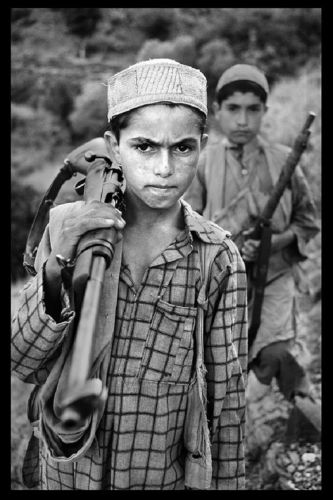 Юные моджахеды. Афганистан, 1979 год.