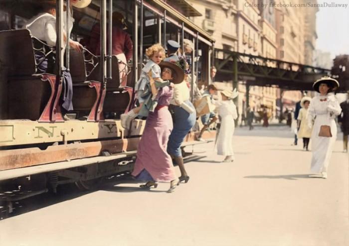 США, Нью-Йорк, 1913 год.