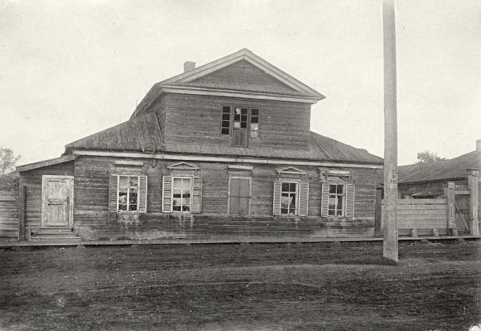 Дом купцов Мясниковых, в котором жил декабрист Давыдов.