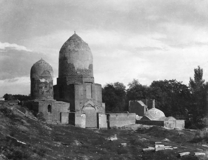 Некрополь Шахи-Зинда в Самарканде.