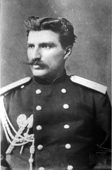 Портрет Николая Михайловича Пржевальского. 1876 год.