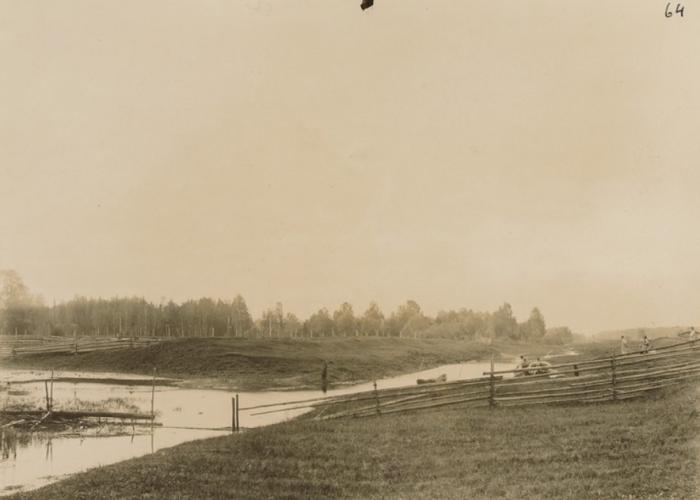 Северо-Екатерининский канал в Пермской губернии.