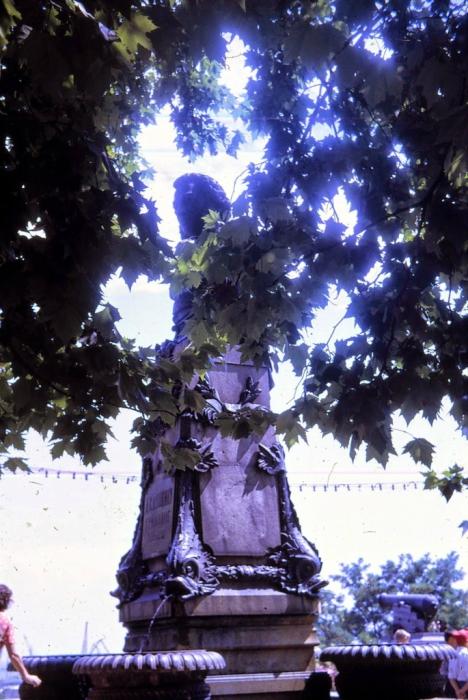 Памятник Александру Сергеевичу Пушкину в Одессе. 1968 год.