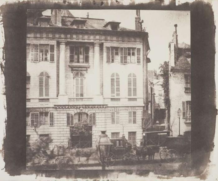 Одна из улиц Парижа в 1843 году.