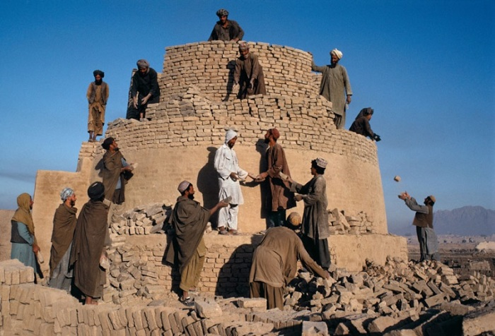 Перестройка печи. Афганистан, Кандагар, 1992 год.