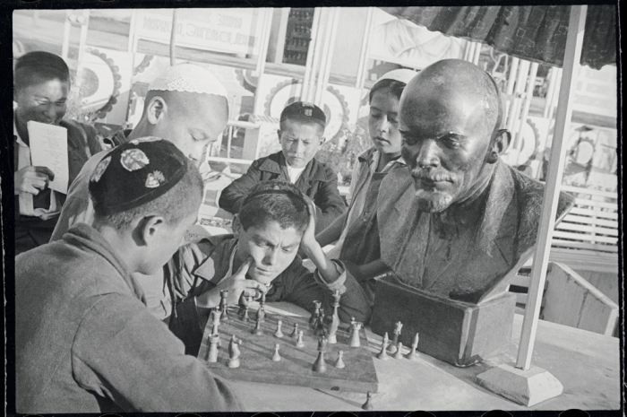 Молодые шахматисты. Фото: Max Penson.