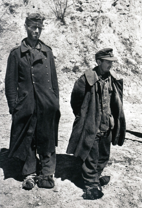 Пленные немцы. 1943 года.