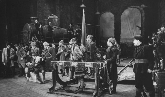Опера, основанная на событиях гражданской войны. СССР, Москва, 1955 год.