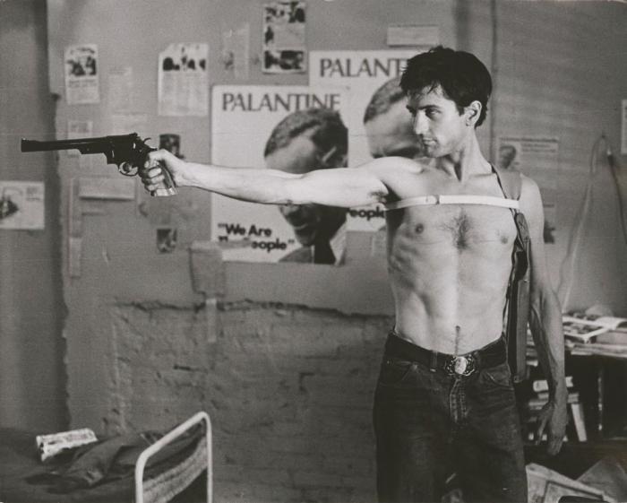 Кадр из фильма «Таксист», 1976 года.