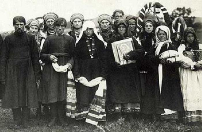 Свадьба. Россия, Тульская губерния, 1902 год.