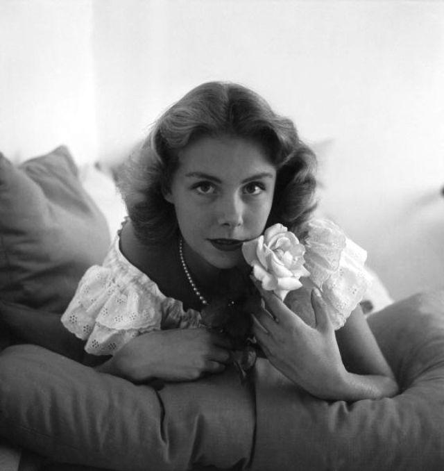 Актриса театра и кино, которая была известна в 1950-е годы.