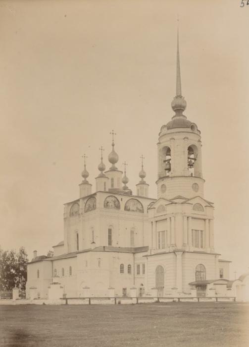 Благовещенский собор, фамильная церковь Строгановых в Сольвычегодске в Вологодской губернии.