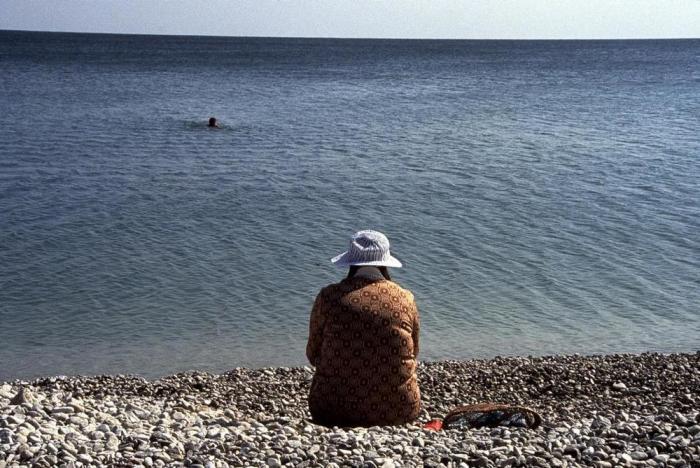 Чёрное море, Коктебель, 1989 год.
