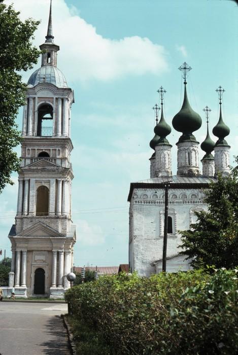 Церковь Смоленской иконы Божьей Матери. СССР, Суздаль, 1975 год.
