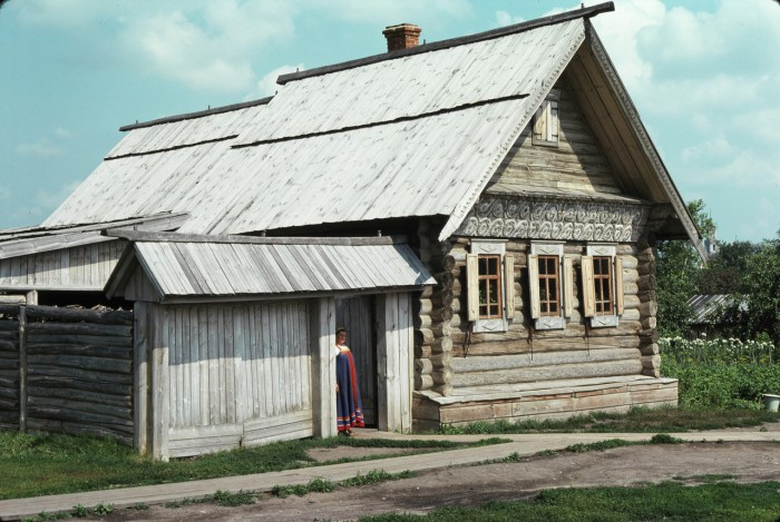 Музей русского деревянного зодчества. СССР, Суздаль, 1975 год.