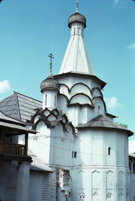Успенская церковь в Спасо-Евфимиевском монастыре. СССР, Суздаль, 1975 год.