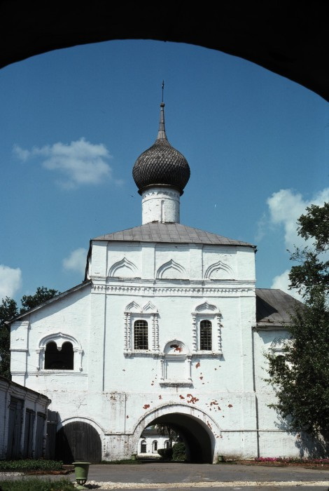 Вход в Спасо-Евфимиевий монастырь. СССР, Суздаль, 1975 год.