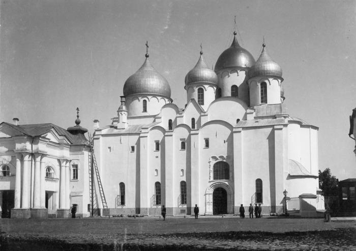Собор Святой Софии в Великом Новгороде. Россия, 1880 год.