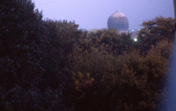 Гур-Эмир - мавзолей Тамерлана. СССР, Узбекистан, Самарканд, 1984 год.