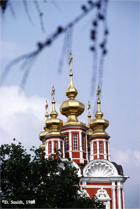 Русская Православная Церковь в Новодевичьем монастыре.