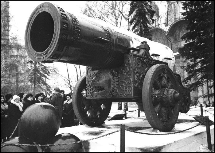 Памятник русской артиллерии и литейного искусства. СССР, Москва, 1985 год.