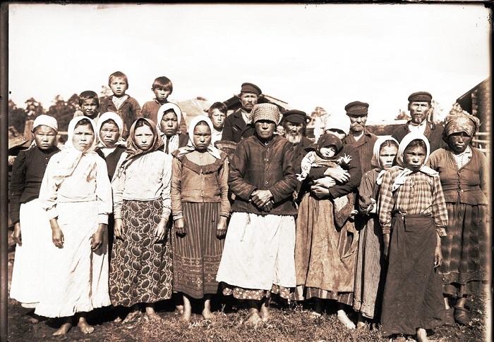 Красноярские юрты. Группа остяков.