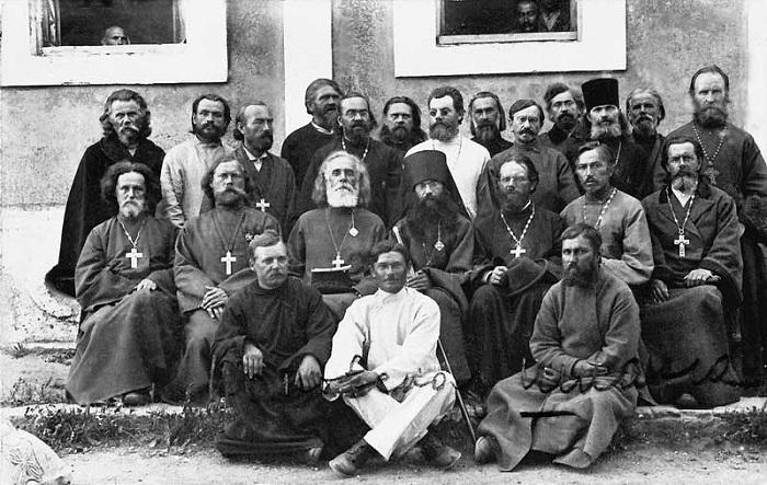 Духовенство 1-го армейского корпуса. Галлиполи, 1921 год.