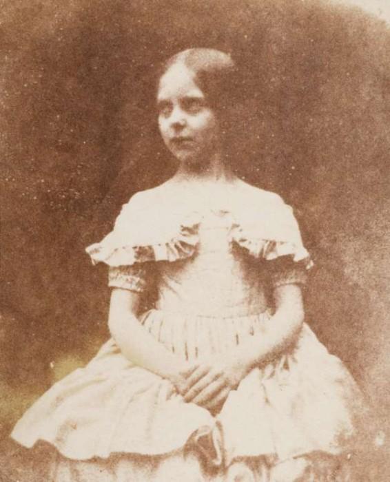Дочь фотографа в 1844 году.