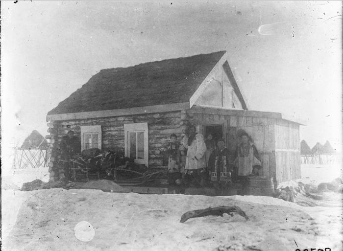 Дом камчадала. Камчатский край, 1901 год.