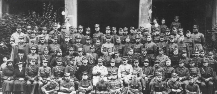 Члены Генеральной инспекции Добровольческой армии. 1920 год.