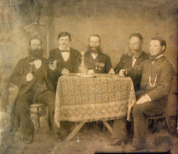 Старожилы города Пржевальск. 1914 год.