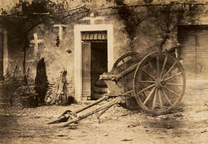 Фотография сделана в Бретани примерно в 1857 году.