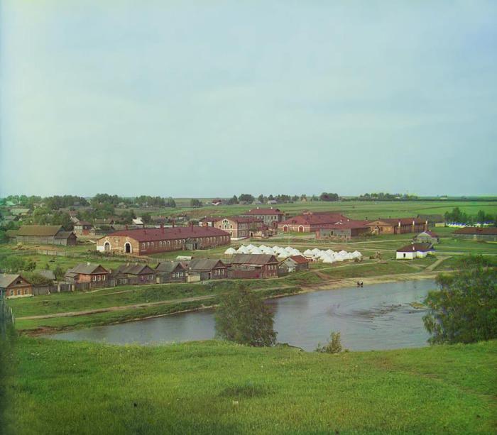 Военный лагерь и казармы в Торжке.