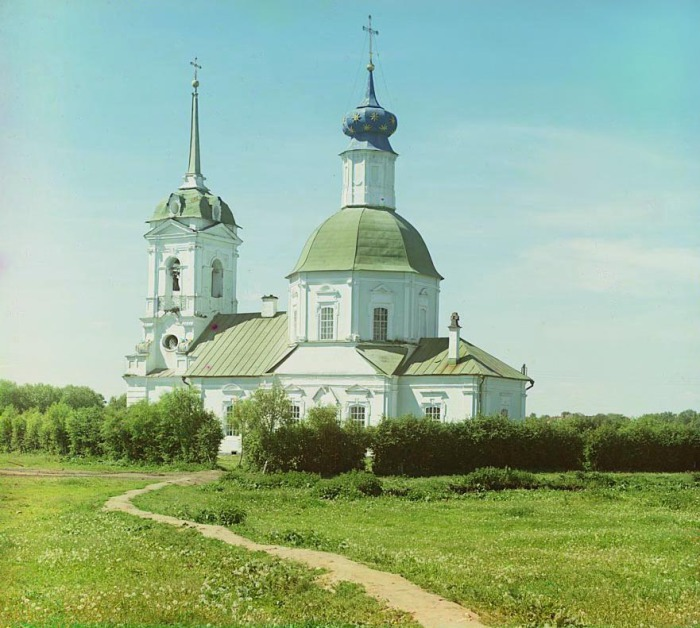 Церковь Николая Чудотворца в Капустниках.