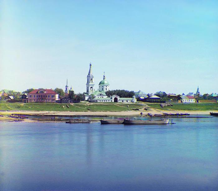 Вид на Свято-Екатерининский монастырь.