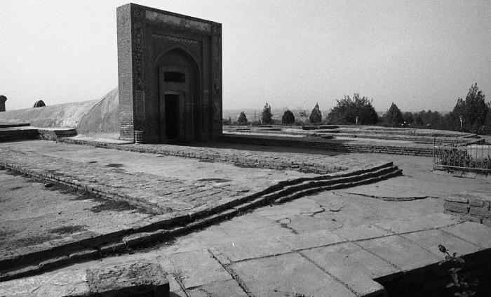 Обсерватория Улугбека. СССР, Узбекистан, Самарканд, 1984 год.