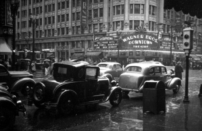 Документальные фотографии Лос-Анджелеса 1930-х годов.