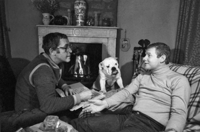 Василий Ливанов и Виталий Соломин в 1981 году.