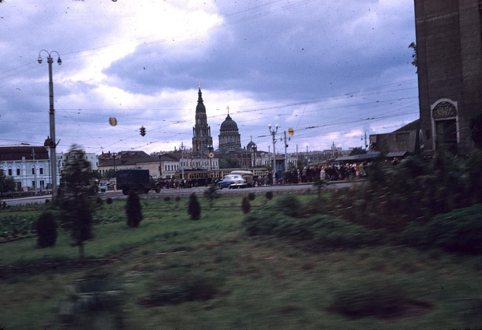 Собор Благовещения Пресвятой Богородицы. СССР, Харьков, 1959 год.
