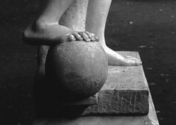 Фрагмент статуи. Автор фотографии: Владимир Антощенков.